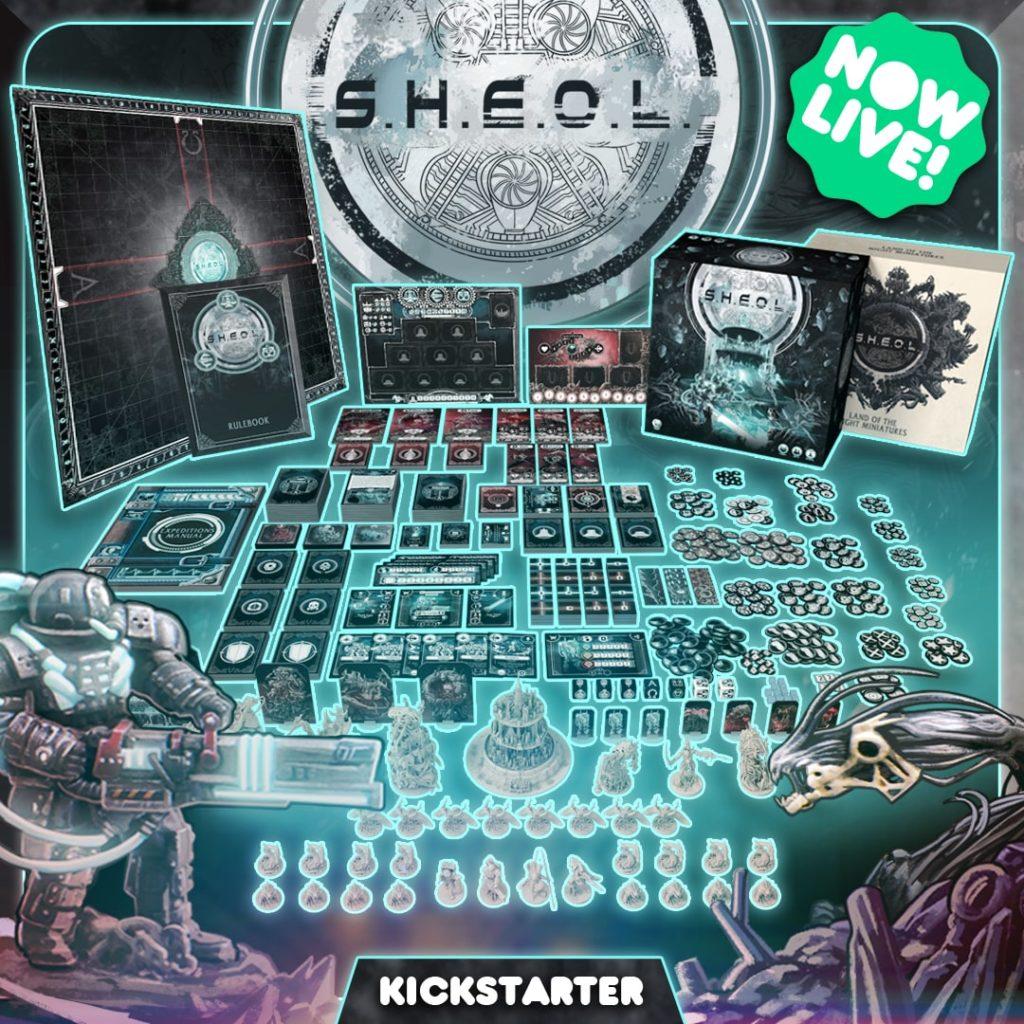 sheol live on kickstarter